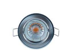HEITRONIC HEITRONIC vestavné svítidlo GU5,3 chrom a matný nikl 24125