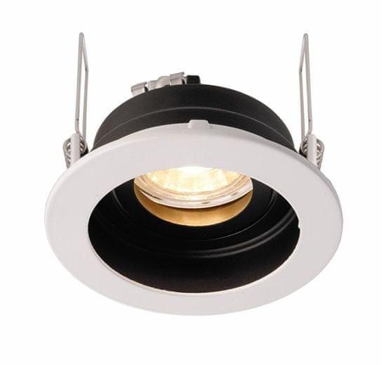 Light Impressions Light Impressions Kapego stropní vestavné svítidlo Enif 12V AC/DC GU5.3 / MR16 1x max. 35,00 W černá / bílá 110007