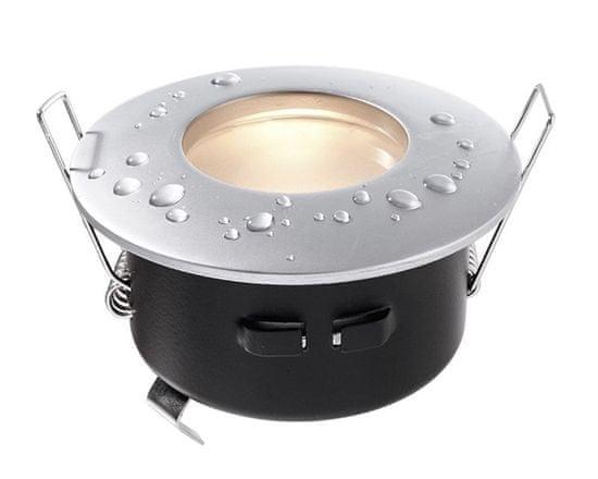 Light Impressions Light Impressions Kapego stropní vestavné svítidlo 12V AC/DC GU5.3 / MR16 1x max. 35,00 W stříbrná 110002
