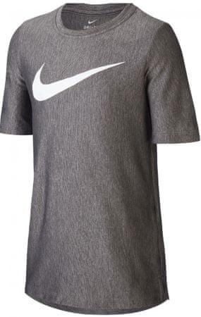 Nike Dri-FIT otroška športna majica, črna, XL