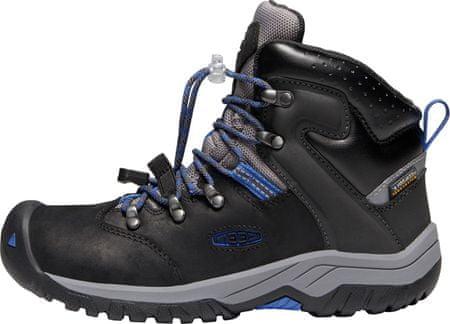 KEEN dětská trekingová obuv TORINO II MID WP Y 36 černá