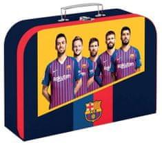 Karton P+P Kufřík lamino 34 cm FC Barcelona