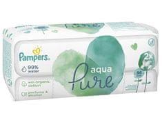 Pampers Aqua Pure vlažilni robčki, 2x 48 kosov