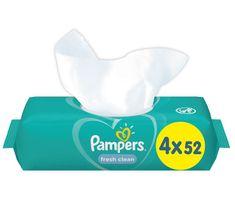 Pampers chusteczki nawilżane Fresh Clean 4x52 szt