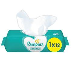 Pampers Nedves törlőkendő Sensitive 12db