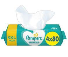 Pampers Nedves törlőkendő XXL Sensitive 4x80db