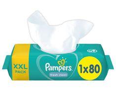 Pampers Nedves törlőkendő XXL Fresh Clean 80db