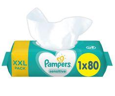 Pampers Nedves törlőkendő XXL Sensitive 80db