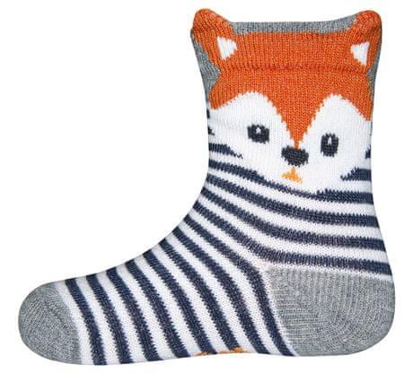 EWERS lisička fantovske nogavice, modre, 23–26