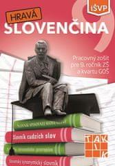 Kolektív autorov: Hravá slovenčina 9 PZ (2.vyd.)