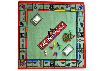 Hrací koberec Monopoly 92x92