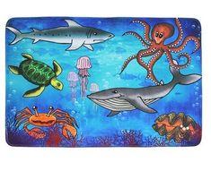 Vopi Protiskluzový kusový koberec Sea world