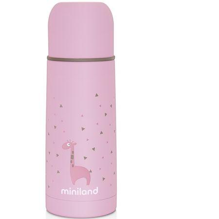 Miniland Baby termos Silky 350ml, Pink