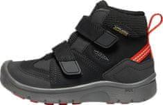 KEEN dětská trekingová obuv HIKEPORT MID STRAP WP C
