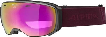 Alpina Sports Gogle Estetica HM grey-cassis