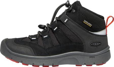 KEEN dětská trekingová obuv HIKEPORT MID WP Y 32/33 černá