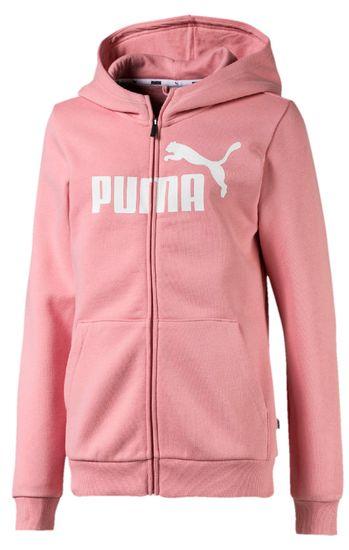 Puma dievčenská mikina Essentials 104 ružová
