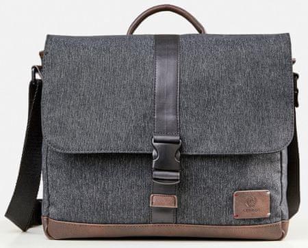Lerros pánska sivá taška Melbourne