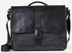 Lerros New York moška torba, črna