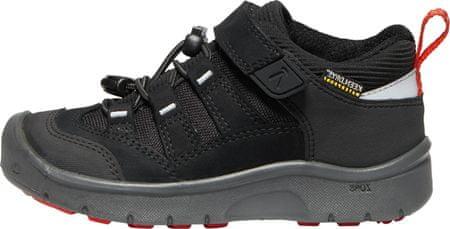 KEEN detská trekingová obuv HIKEPORT WP C 24 čierna