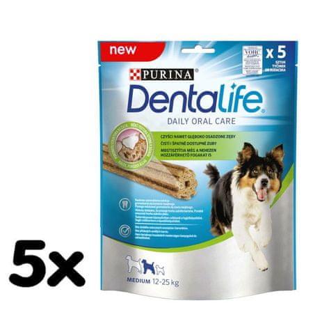 Purina DentaLife – MEDIUM 5 x 115g