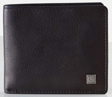 Lerros pánská peněženka Trifold černá