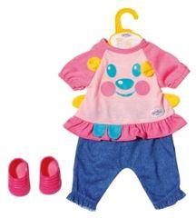 BABY born oblačila za igro, modra, 36 cm