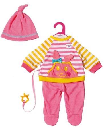 BABY born oblačila za igro, roza, 36 cm
