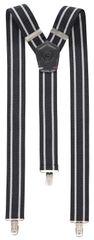 Lerros férfi fekete nadrágtartó 58W9003