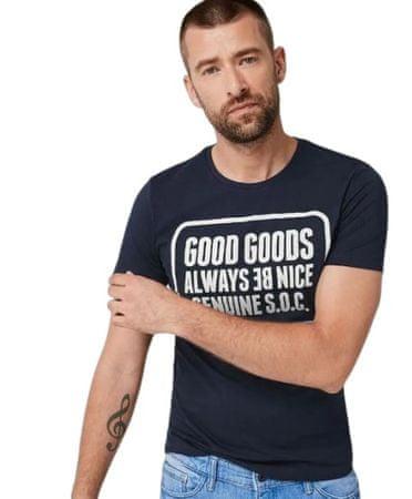 s.Oliver pánské tričko 13.907.32.7664 XXL tmavě modrá