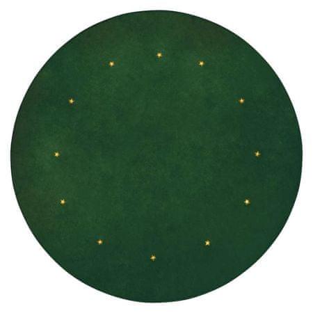 EMOS mata pod choinkę LED, zielona, 1 m, timer
