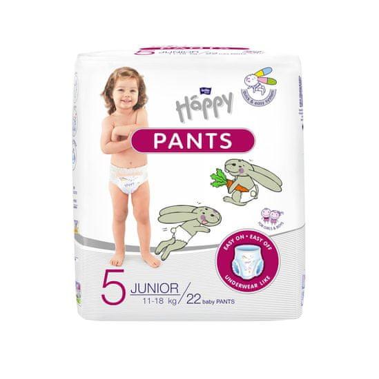 Bella Happy Pants 5 Junior (11-18 kg) 22 ks