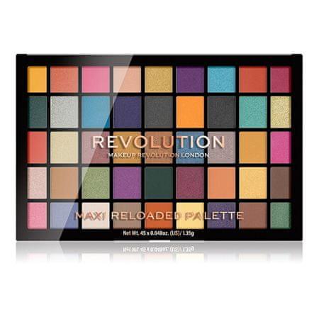 Makeup Revolution Paletka očních stínů Maxi Reloaded Palette Dream Big 60,75 g