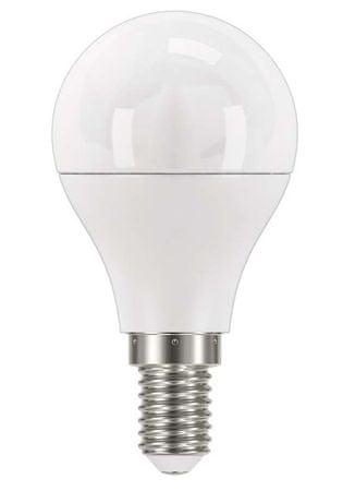 EMOS LED izzó Classic Globe, 8W, E14, meleg fehér