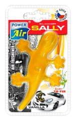 JEES Moderní plastový osvěžovač ještěrka - žlutý
