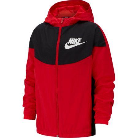 Nike chlapecká bunda Nike Sportswear XS, červená