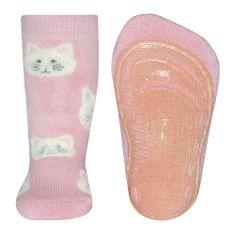 EWERS ženske protuklizne čarape s motivom mačke