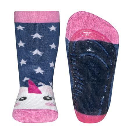 EWERS lány zokni csúszásgátló Hóember 21 - 22 kék