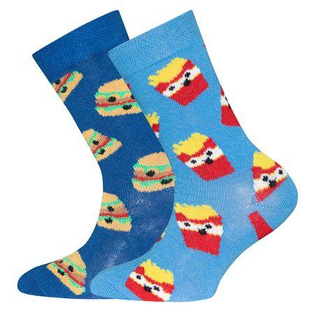 EWERS čarape za dečke Hamburger 31 - 34 plava
