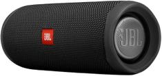 JBL Flip 5 prenosni zvočnik, črn - Odprta embalaža