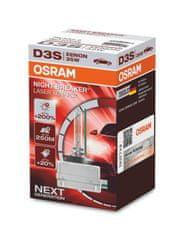 Osram OSRAM XENARC D3S 66340XNL NIGHT BREAKER LASER plus 200procent 35W PK32d-5