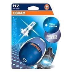 Osram OSRAM H7 64210XR-02B X-RACER, 55W, 12V, PX26d duo blister motožárovka