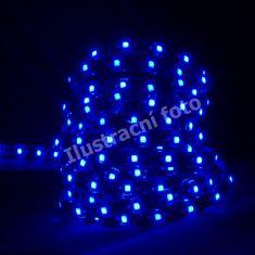Schmachtl McLED LED pásik SMD3528 modrá, DC12V, IP20, 8mm, biely PCB opasok, 60 ľad / meter 121.204.10.0