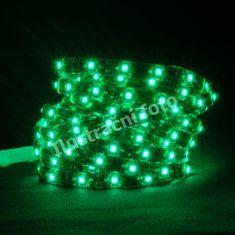 Schmachtl McLED LED pásik SMD3528 zelená, DC12V, IP44, 15mm, biely PCB opasok, 240 ľad / meter 121.253.10.0