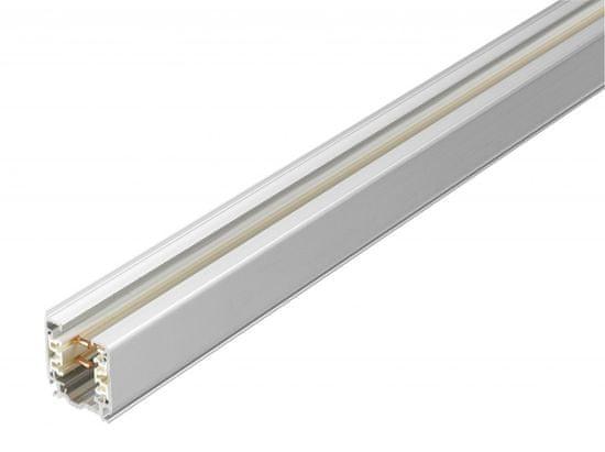 NORDIC ALUMINIUM NORDIC ALUMINIUM přisazená/závěsná 3-okruhová napájecí lišta GLOBAL Trac XTS4200-1 Stříbrno-šedivá 200cm