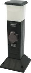 HEITRONIC HEITRONIC LED sloupek se zásuvkami 2násobná SHANGHAI 35112