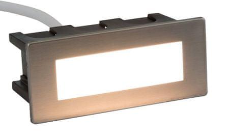 HEITRONIC HEITRONIC LED vestavné svítidlo EDGE 123x53mm 35061