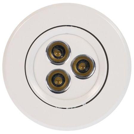 HEITRONIC HEITRONIC LED vestavné svítidlo 3ks set LONDON bílá 30699