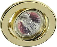 HEITRONIC HEITRONIC vestavné svítidlo mosaz 23243