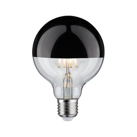 Paulmann Paulmann LED Globe 95 zrcadlový svrchlík černý chrom 5W E27 teplá bílá stmívatelné 285.47 P 28547 28547